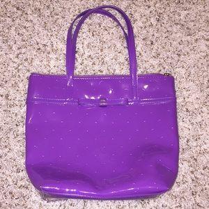 Kate Spade purple tote NWOT